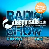 DEEPINSIDE RADIO SHOW 073 (Summer Collection 2015)