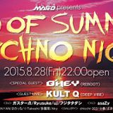 End of summer Techno Night@CLUB-MAGO LIVE MIX 28.08.2015