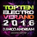 TopTen Electro Verano 2015 - DjNicoAndreani