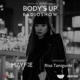 Body's Up Radioshow 024 w/ Risa Taniguchi [Hosted by Mayfie]