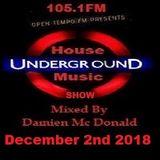 Opentempo Underground House Music Mix Show 02/12/2018
