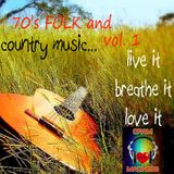 70's Folk and Country Music Vol 1