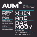 Bas Mooy @ AUM 2nd Birthday - The Rainbow Warehouse Birmingham - 26.07.2013
