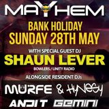 Shaun Lever Live AT Est 1899 Leigh Bank Holiday Sunday 28th May