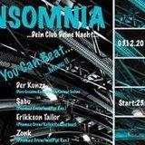 Erikkson Tailor@ Insomnia All you can Beat_Menü II
