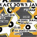 WACK DOWN JAM  at ZUBAR APRIL 7(sat) 2018 DJ IZU