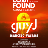 Marcelo Vasami - Live @ Lost & Found Boat Party, Toronto, Canada - 29-Aug-2014