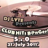 "Club Hits Banger 5.0 (21 July 2011"")"