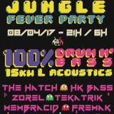 Mix DJ Set du 08/IV/2K17- FTM Jungle Party - 1h Drum&Bass