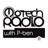 Motech Radio show#11 with P-ben
