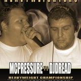 The Heavyweighters - Dj Dread and Mc Pressure - June 2th. 2008