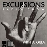 Excursions Radio Show #20 with DJ Gilla - June 2013
