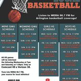 WERA High School Basketball Game of the Week: Bishop O'Connell vs Langley Girls Basketball DEC 21st