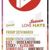Love Hate Presents Sticky