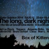 Lukas (PUSH, HK) Box of Kittens 'Winter Solsitce' The Long Dark Night at Griessmuhle Berlin 20DEC14