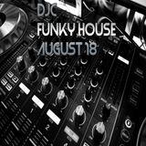 DjC Funky House mix Aug 18