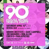 90's House Music Tribute Party Mix