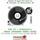 Stream of Musicness 24/03/17. Il caso Eneas. Tekno ospite Undermatic Space Invaders Tekno Sound.