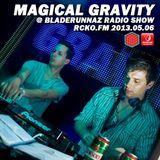 Magical Gravity @ Bladerunnaz Radio Show, RCKO.FM 06.05.2013