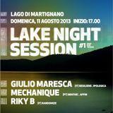 Lake Night Session #1 Live from Lago di Martignano (dj Riky + Royal dj + Giulio Maresca)