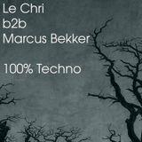 Le Chri b2b Marcus Bekker - 100% Techno