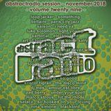 AbstractRadio - session twenty nine - november 2018