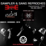 """RADIO S&SR Transmission n°1053 -- 13.03.2017 (Top Of The Week """"EUFORIC EXISTENCE"""" + """"KNIGHTS intw"""")"""