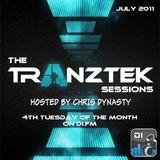 The Tranztek Sessions July 2011 w/ Chris Dynasty & 6head_Slug