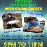 Obsessed Angler Show with Russ Evans 24th September 2015