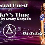 Crazy DeejaYs and Dj Jucy M (Special Guest) - for DeejaY's Time [05.07.2013] # 22