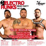 20190420 DJ DAI ELECTRO HUNKS vol.15 LIVE REC !!