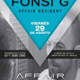 Fonsi G @ Affair Lounge (Sevilla) 29-08-2014