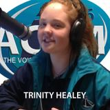 TRINITY HEALEY with Austin Lake's Best Music Mix from the 70's, 80's, 90's and Today on 87.6 ACFM.