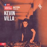 Oniryc Podcast #016 Kevin Villa (Matteria/Pereira)