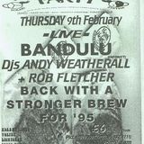 Bandulu LIVE at Herbal Tea Party (Manchester - UK) - 9 February 1995