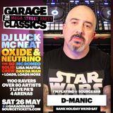 garage classics Competition promo set