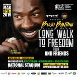Buju Banton - 3-16-2019 Long Walk To Freedom Concert Jamaica Soundboard With Special Guests