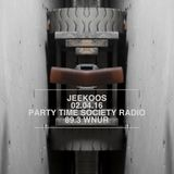 02.04.16 Jeekoos on PTS Radio WNUR Chicago