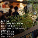 DJ Lounge 0210 Danny Masao Winston/ pigeon dust / ΔKTR