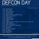 Defcon Recordings Day 2012 - Sergey Servone & Simon 'O' Shine