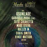 Toto Chiavetta, Hallex M @ The Yoruba Records party / Canvas (ADE 2015)