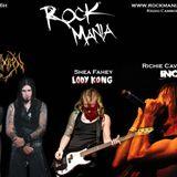 Rock Mania #206 - com Richie Cavalera, Shea Fahey e Crucifixion BR - 06/12/14