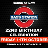 Bass Station 22nd Birthday Warm up party mix 1