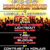 Logikal b2b LightsOut @ Signal Flow Radio 10_6_15