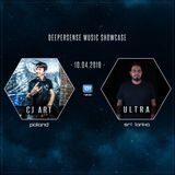 Deepersense Music Showcase 040 with CJ Art & Ultra (April 2019) on DI.FM