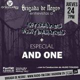 Brigada junto a Enterrados Perturbados  y especial de la discografía de AND ONE!