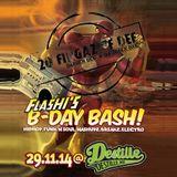 20 Fingaz Of Def @ Flashi's B-DayBash (Live / 29-11-2014 / Nordhausen)