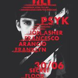 Jon Asher b2b Francesco Arancio @ Tilt (Fusion Club)30.06.2012