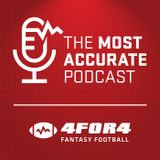 2013E24 The Most Accurate Podcast -- 4for4.com Fantasy Football