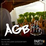PARTY MIX - AGB (Don Vito exclusive outdoor party_Live recorded 18.11.2012)_
